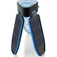 Zanflare LED Camping Linterna Paneles Solares, Luz de Camping Plegable y Recargable con Puerto USB y Circuito integrado de Protección Inteligente para las actividades Al Aire Libre, La situación urgente