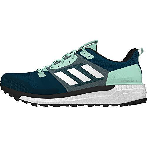 adidas Damen Supernova Trail Traillaufschuhe, Blau (Azcere/Ftwbla/Mencla 000), 38 EU -