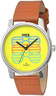 Gully by Timex Talk Analog Yellow Dial Men's Watch-TW000