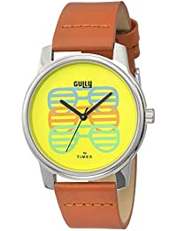 Gully by Timex Talk Analog Yellow Dial Men's Watch-TW000V807