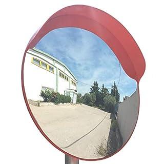 JCM-45o Convex unbreakable traffic mirror, diameter 45cm (18
