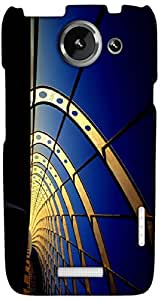 Timpax protective Armor Hard Bumper Back Case Cover. Multicolor printed on 3 Dimensional case with latest & finest graphic design art. Compatible with HTC one X+ ( Plus ) Design No : TDZ-26771