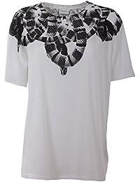 Marcelo Burlon Femme CWAA016S170470840100 Blanc Coton T-Shirt