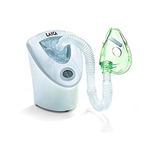 Laica MD6026 Ultraschall - Inhalator Ultraschallgerät für Aerosoltherapie, schnell und extrem leise Vernebelung, einfach zu bedienen
