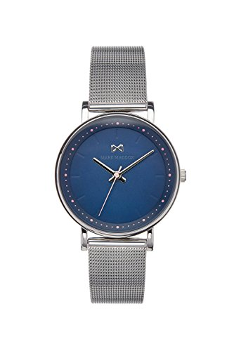 Mark Maddox Women's Analogue Quartz Watch with Stainless Steel Strap MM0105-37
