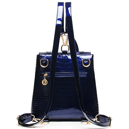Luxus-Shopping Umhängetasche Mode-Handtasche Messenger blue