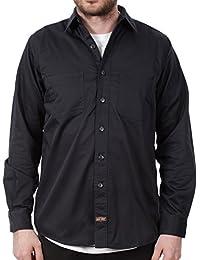 Camisa de trabajo Jesse James Heavy Duty Azuloscuro