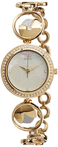 Titan Raga Analog Mother of Pearl Dial Women's Watch - 2539BM01 image