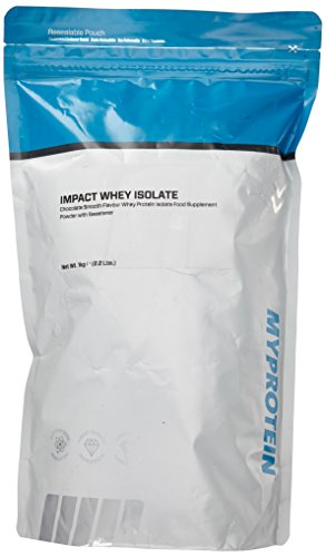#Myprotein Impact Whey Isolate Protein Chocolate Smooth, 1er Pack (1 x 1 kg)#