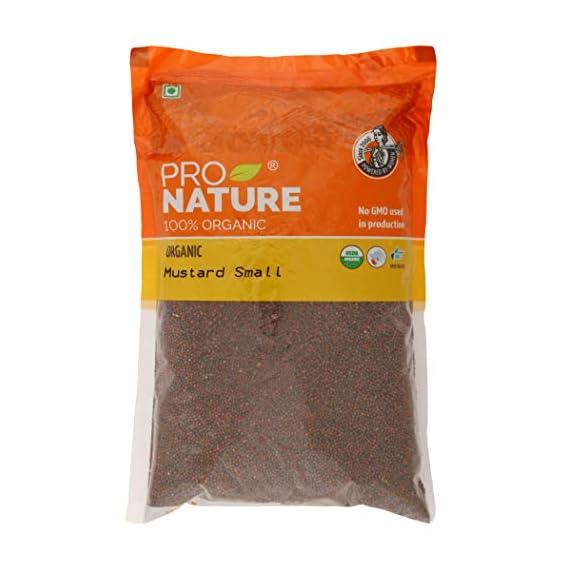 Pro Nature 100% Organic Mustard, 500g