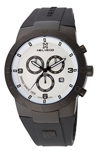 Helveco H01852AAN - Reloj, correa de goma color negro