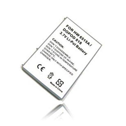 weltatec Qualitätsakku Akku Accu Organizer PDA kompatibel mit O2 XDA mini II Organizer PDA Hochleistungsakku Li-Polymer Akku Ersatzakku PDA-Akku - (nur Original weltatec mit Hologramm)