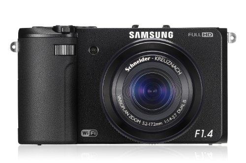 Samsung EX2F Digitalkamera (12,8 Megapixel, 3-fach opt. Zoom, F 1.4, 7,6 cm (3 Zoll) Display) schwarz