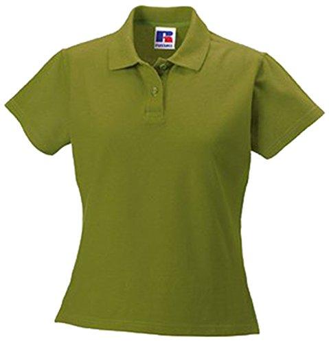 Jerzees Ladies Ultimate Pique Cotton® lo Shirt XXL Cactus Green (Ultimate Shirt Damen Piqué)