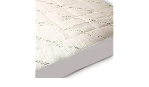 OR 4 INCH Thick Organic LIMITED STOCK Mattress Topper Bamboo  10 CM