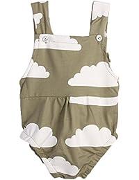 Baby Infant Kleinkind ärmellos Strampelanzug Star Print Jumpsuit Sunsuit Jungen (0 -24 Monate) Halstücher