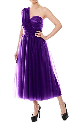 MACloth - Robe - Trapèze - Femme Violet - Violet