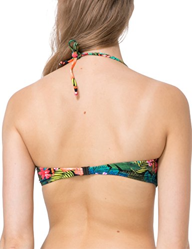 Desigual Biki_tripo, Bikini Donna Verde (Verde Estanque 4016)