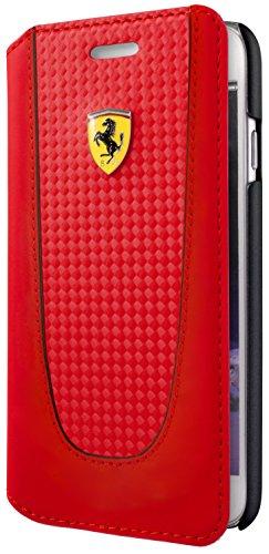 Ferrari FEPIFLBKP7RE CG Mobile Handytasche für Apple iPhone 8/7 rot