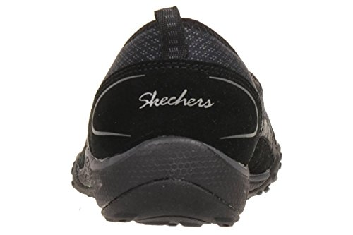 Skechers Breathe Easy Quick wit Damen Sommerschuhe Slip On Slipper schwarz, Schuhgröße:EUR 38 -
