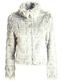 big sale e94ee 821ea Amazon.it: pelliccia - Guess: Abbigliamento
