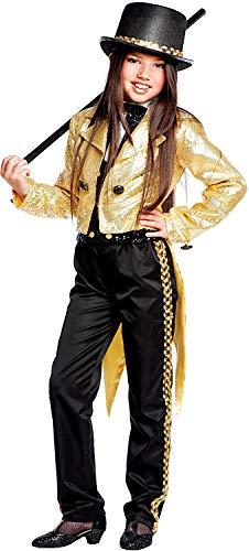 Carnevale Venizano CAV50599-L - Kinderkostüm Broadway - Alter: 7-10 Jahre - Größe: L (Sieben Neun Kostüm Verkauf)