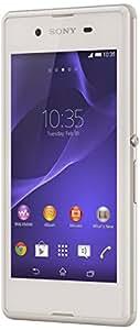 Sony Xperia E3 Smartphone débloqué 4G (Ecran: 4,5 pouces - 4Go - Simple SIM - Android 4.4 KitKat) Blanc