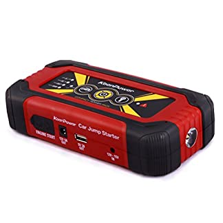 Keenpower Car Jump Starter 12V Car-Stlying Dispositivo de inicio Cargador Car Battery Booster Buster