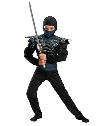 (Horror-Shop Ninja Kostüm für Kinder)