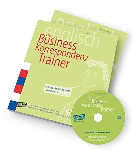 Der Business Korrespondenz Trainer Englische Bürokommunikation