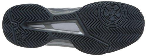 adidas  Barricade Club, Chaussures de Tennis homme Gris (Night Metallic/Ftwr White/Core Black)
