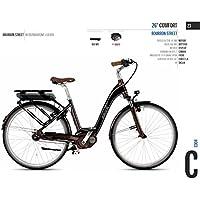 Cicli Ferrareis City Bike Donna 28 EBIKE 28 Comfort BURBON Street