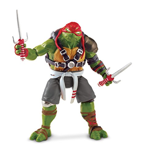 "Image of Teenage Mutant Ninja Turtles ""Raph"" Movie 2 Action Figure"