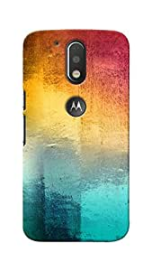 Unicraft Back Cover for Motorola Moto G4 Plus (3D Printed Multicolor)