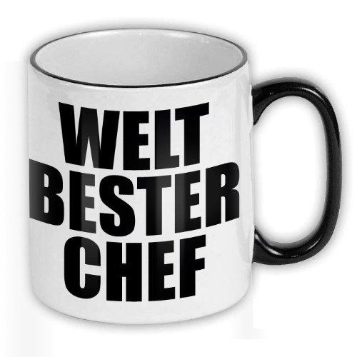 FunTasstic Tasse Welt bester Chef Kaffee-Pott (T125)