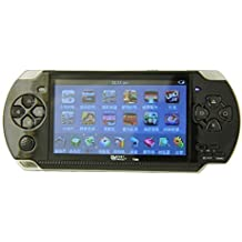 PSP Classic Handheld Gaming Console 8 GB With 10000 Games PlayStation With Preloaded Games,WiFi,FM,TF Memory Card And Camera 4.3 Inch Screen Full HD 1080p [ Black ] ByBox