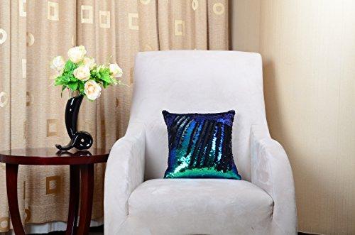 Mermaid cuscino cuscino con lustrini covers-YQing paillettes federa ...