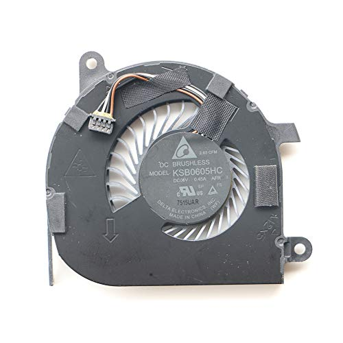 DXCCC Laptop Cooler Fan for DELL Latitude 7470 E7470 CPU Cooling Fan