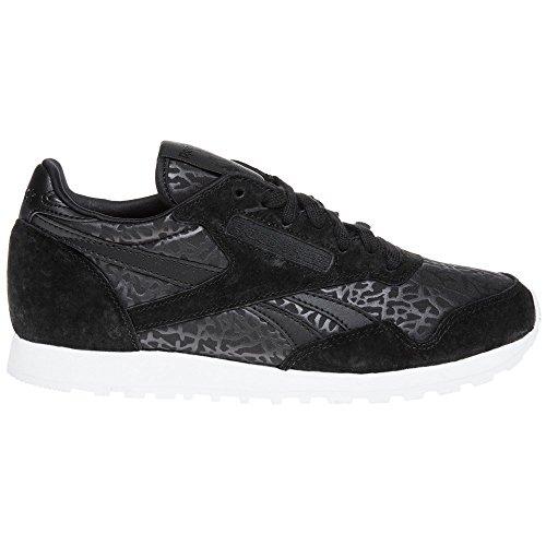 Reebok Paris Runner Gallery Ii Donna Sneaker Nero Schwarz