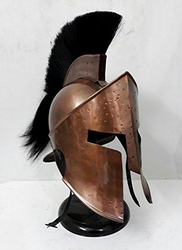 ANTIQUENAUTICAS 300 König Leonidas Spartan Helm Krieger Kostüm mittelalterlichen Helm LARP SCA Geschenk