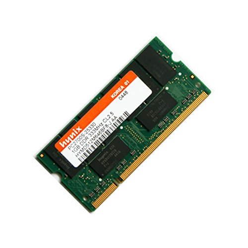 Pc-2700 333mhz Laptop (1GB (1x 1GB) DDR1 333MHz (PC 2700S) SO Dimm Notebook Laptop Arbeitsspeicher RAM Memory Samsung Hynix Micron)