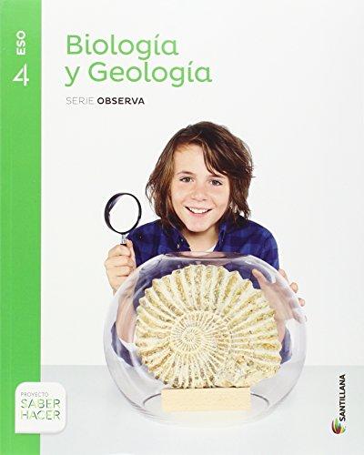 Biologia y Geologia. Serie Observa. 4 ESO. Saber Hacer - 9788414101704