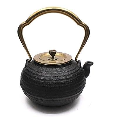 japonaise Théière en fonte Théière bouilloire à thé 1134gram (1.2L)