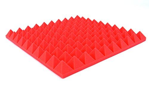 lot-de-4-panneaux-acoustiques-en-mousse-pyramidale-isolation-phonique-pour-studio-rouge-500-x-500-mm