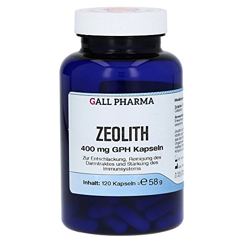 Mineral-supplement 120 Kapseln (Gall Pharma Zeolith 400 mg GPH Kapseln 120 Stück)