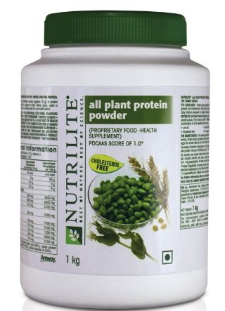 Nutrilite Amway All Plant Protein Powder 1 Kg 1000 Grams  available at amazon for Rs.2980
