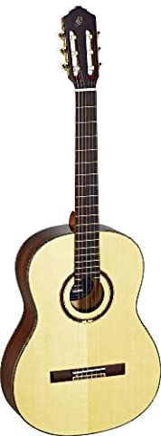 Ortega Guitars R158SN Feel Series Slim Neck Nylon 6-String Guitar with Solid Spruce Top and Rosewood