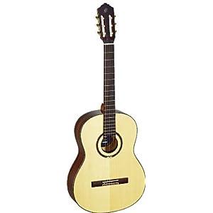 Ortega Guitars Feel Series Slim collo chitarra a corde in nylon con tavola in abete massello