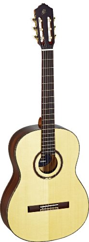 Ortega Guitars Feel Series Slim collo chitarra a corde in nylon con tavola in abete massello