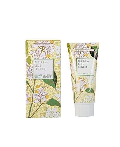 Heathcote & Ivory hojas de Neroli y lima mano y crema de uñas, 100ml